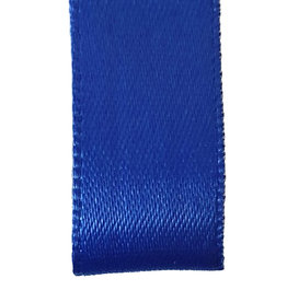 Premium  lint satijn - Blauw