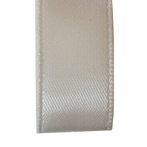 Premium  lint satijn - Ivoor