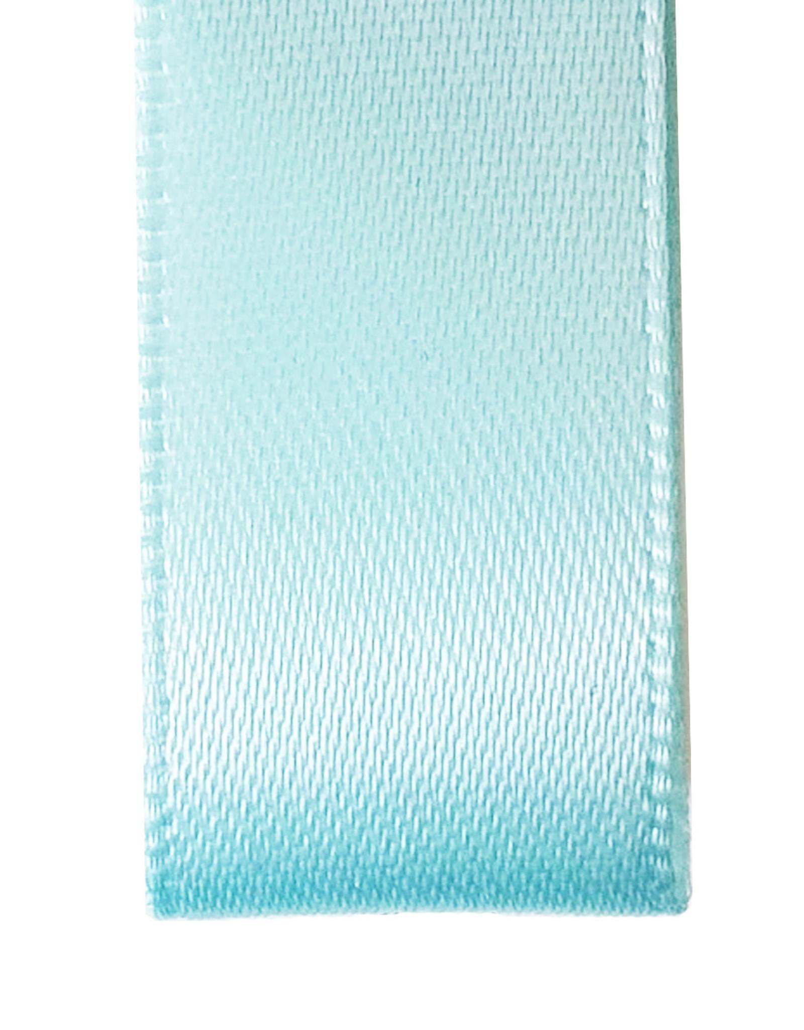 Premium lint satijn - Turquoise (25 meter)