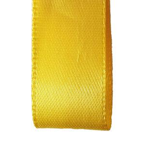 Premium  lint satijn - Geel