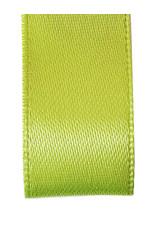 Premium lint satijn - Lente groen (25 meter)