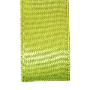 Premium  lint satijn - Lente groen