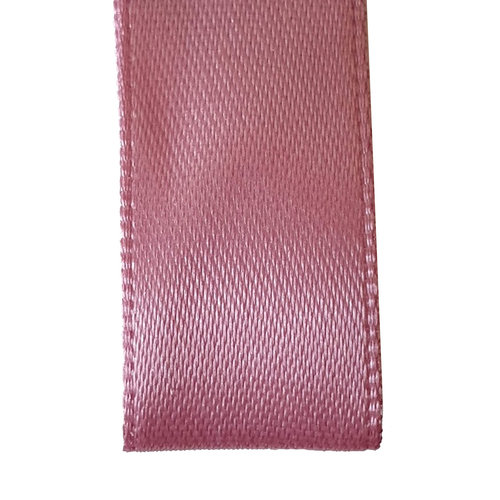 Premium  lint satijn - Oud roze