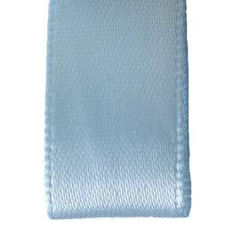 Double face satin ribbon - Light blue