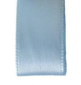 Premium  lint satijn - Lichtblauw
