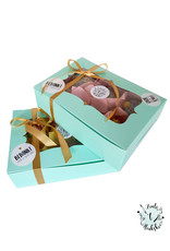 Mint box for 6 cupcakes (per 10 pieces)