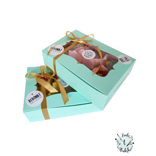 Mint doos voor 6 cupcakes (10 st.)