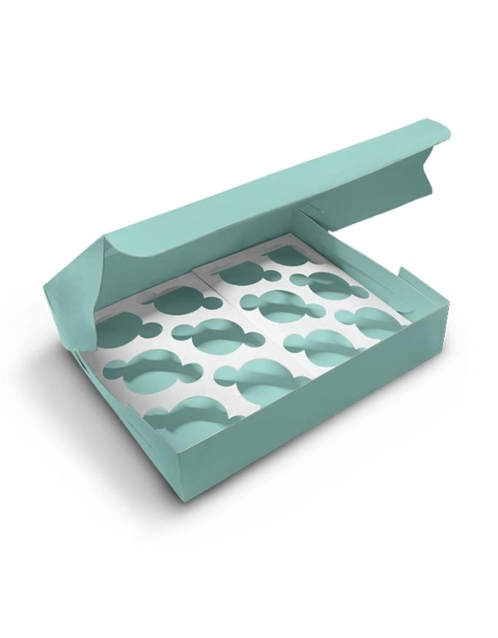 Mint doos voor 12 cupcakes (per 10 stuks)