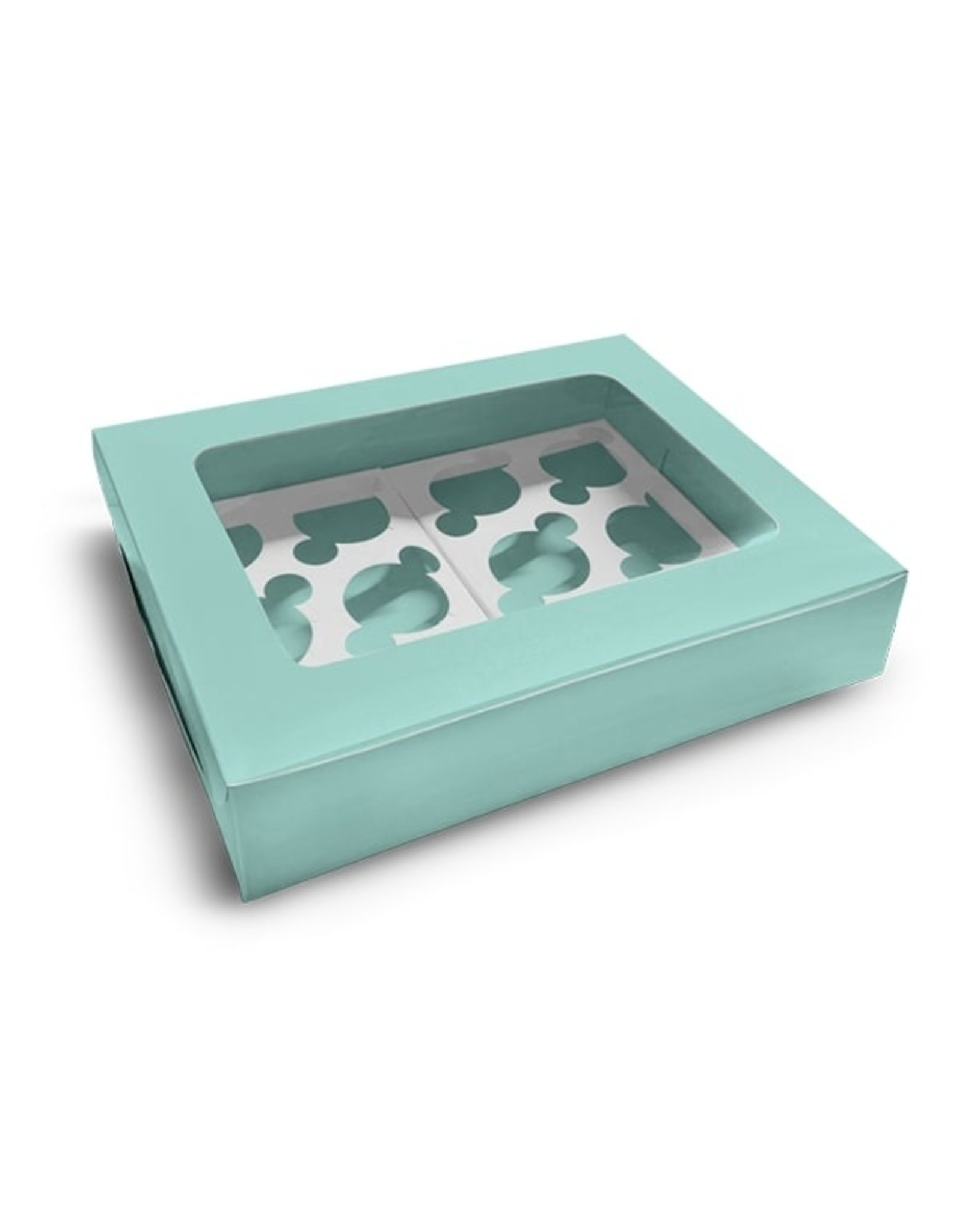 Mint box for 12 cupcakes (per 10 pieces)