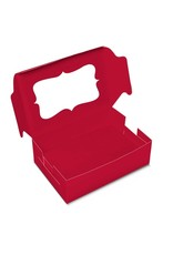 Red box for 6 cupcakes (per 10 pieces)