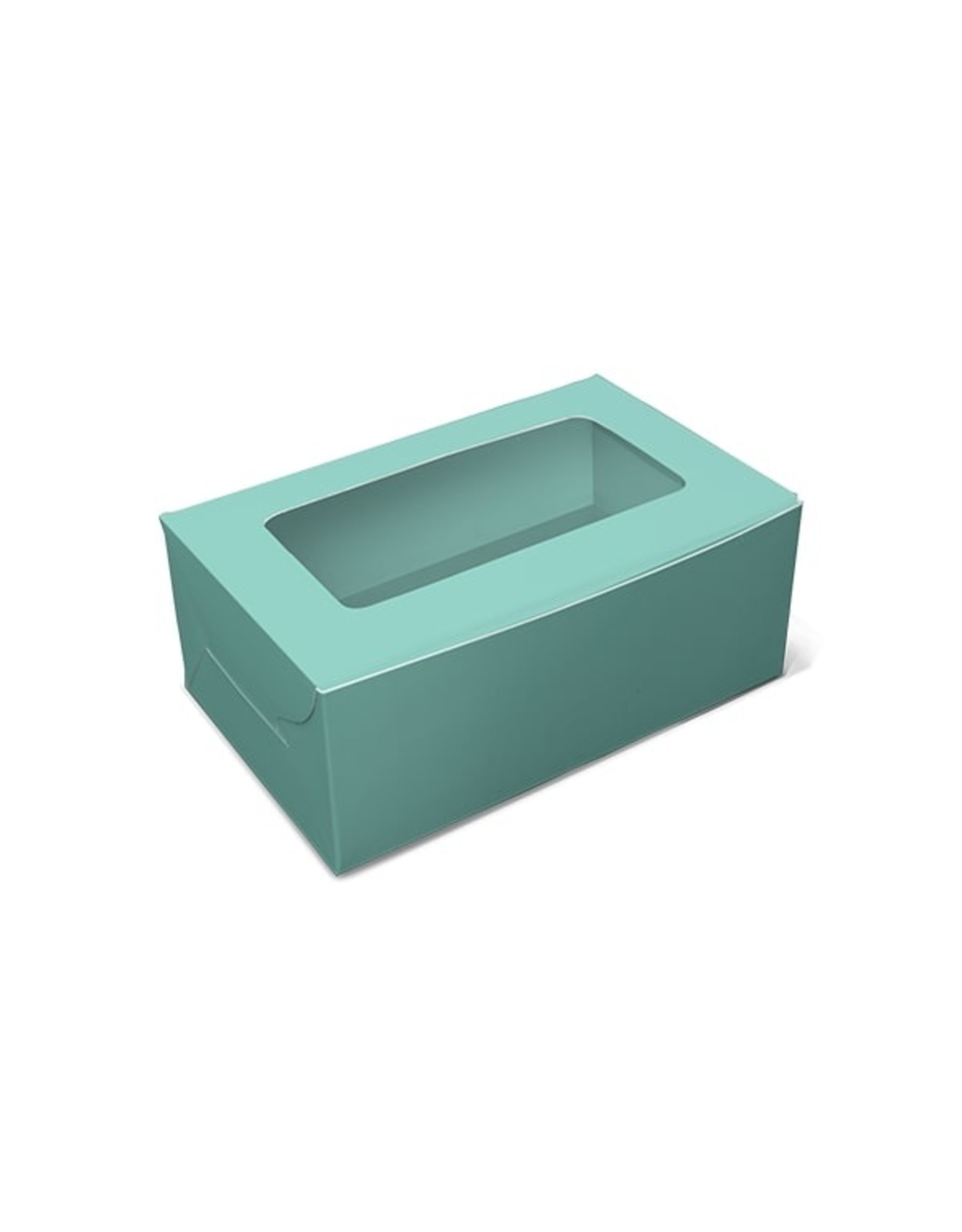 Mint box for 2 cupcakes (per 10 pieces)