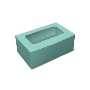 Mint box for 2 cupcakes (10 pcs.)