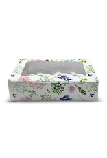 Floral box for 12 cupcakes (per 10 pieces)