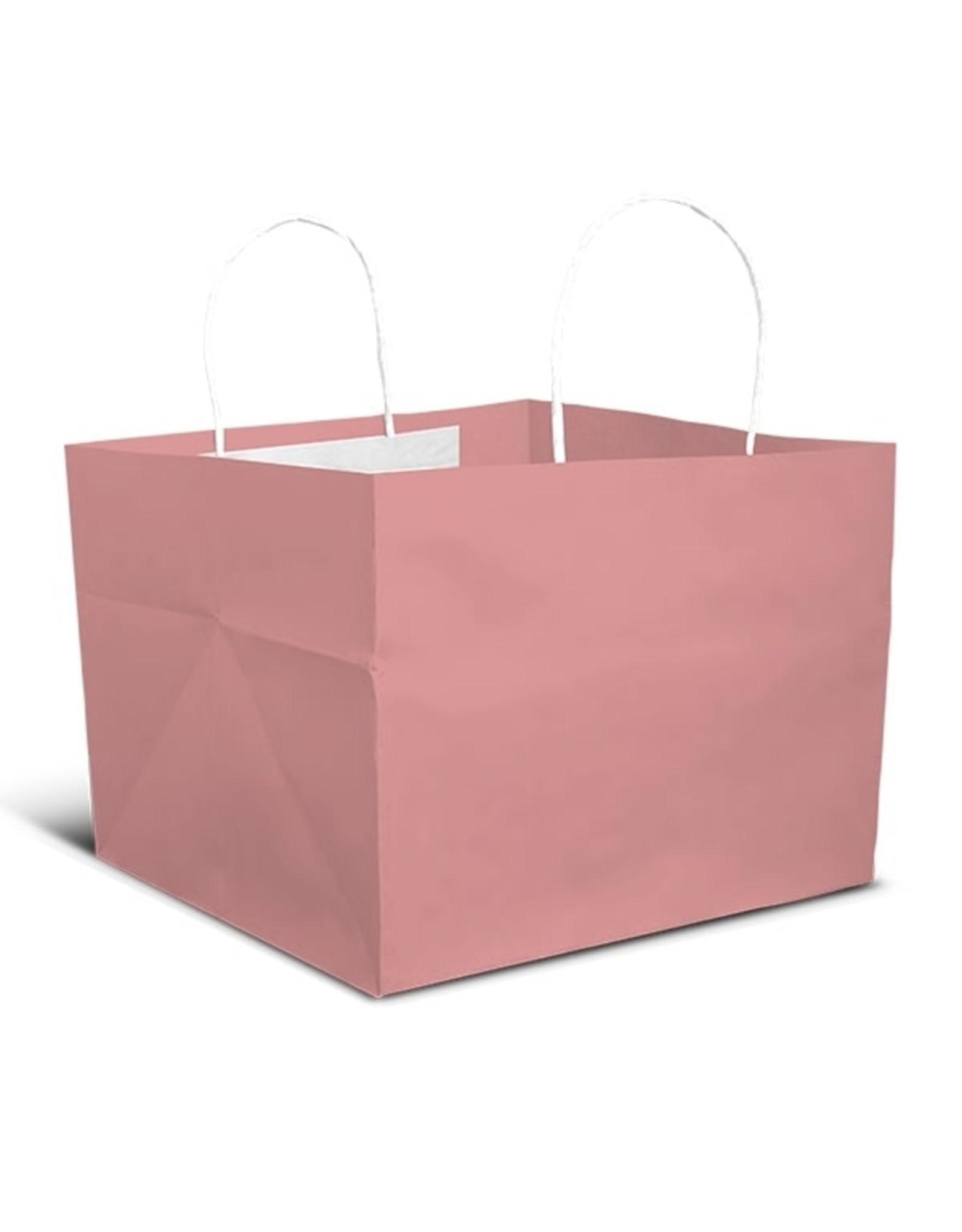 Roze tas - groot (per 10 stuks)