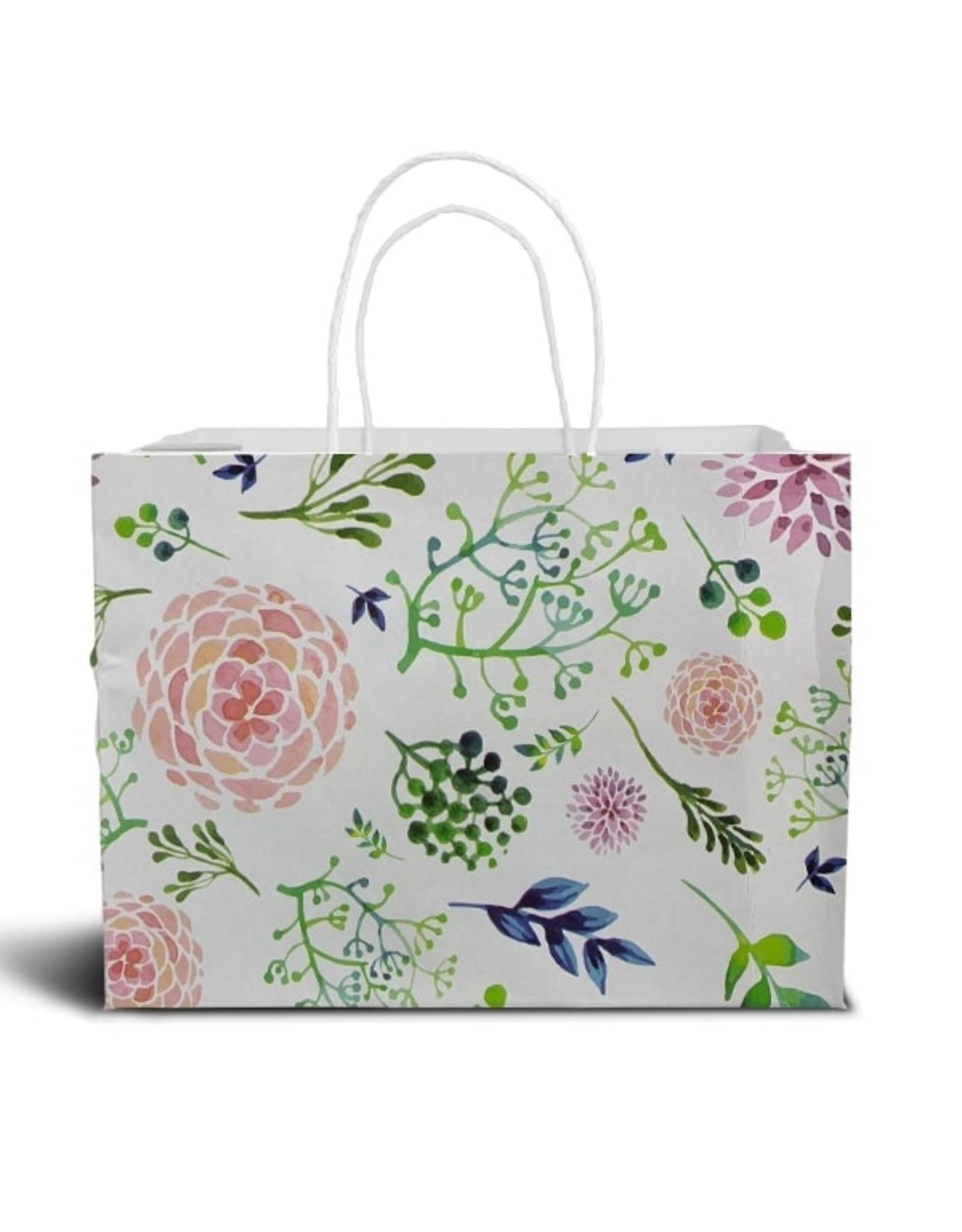 Floral cake bag - big (per 10 pieces)