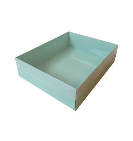 Mint sweets box with clear lid (50 pcs.)