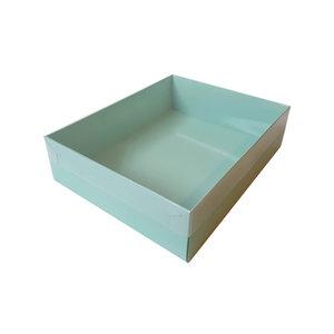 Mint sweetsbox met transparant deksel (50 st.)