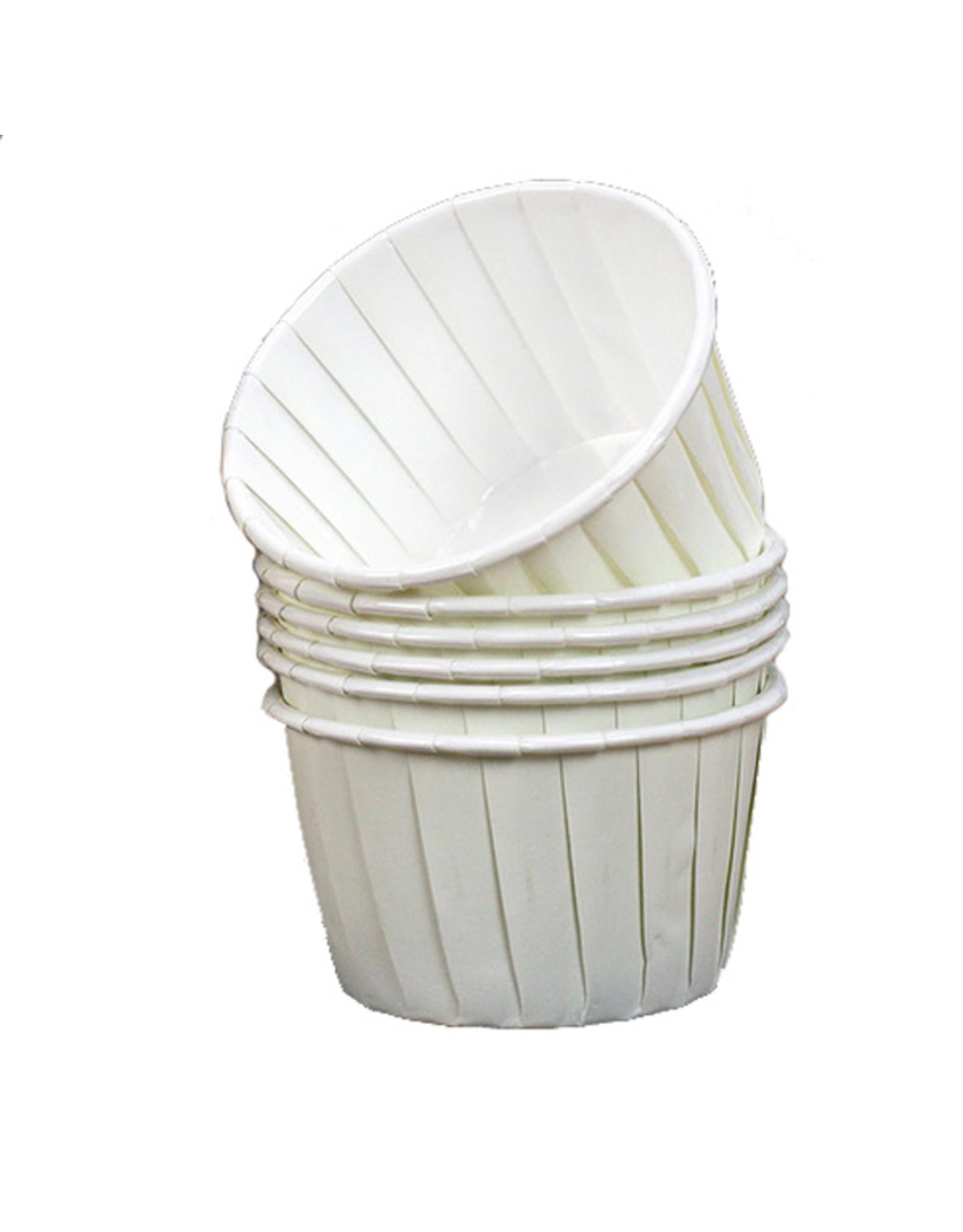 Culpitt Cupcake bakjes ivoor/wit (per 12 stuks)