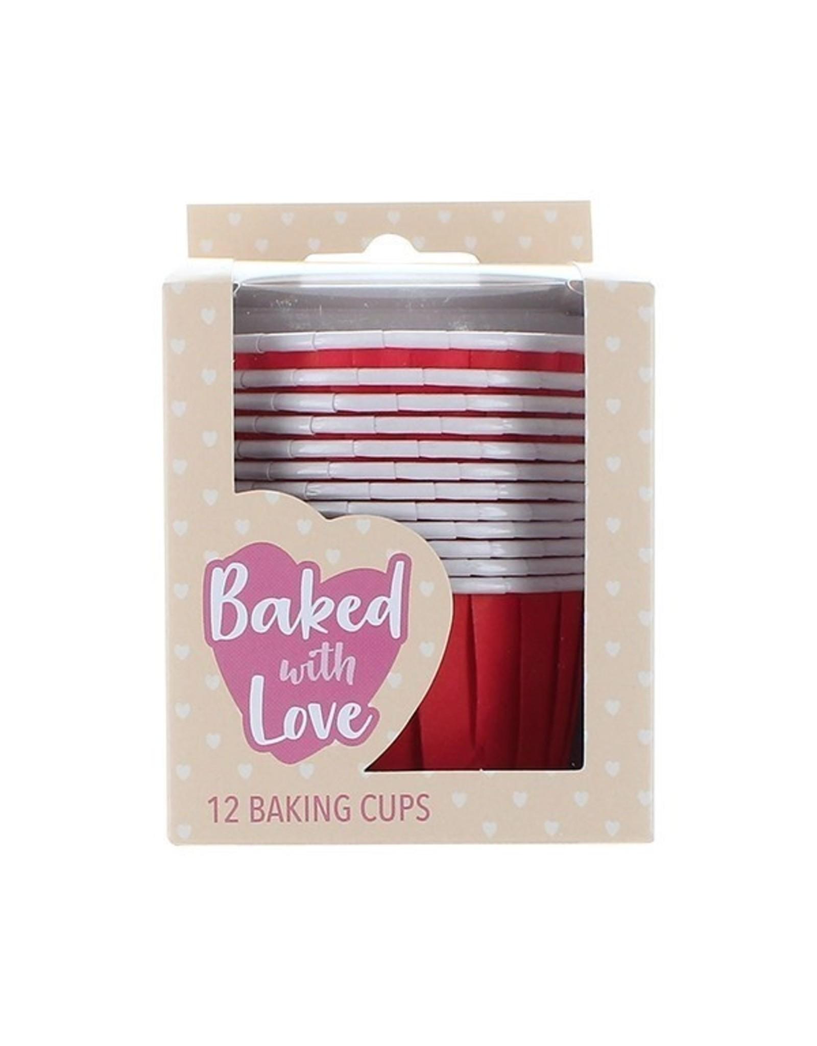 Culpitt Baking cups red (per 12 pieces)