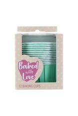 Culpitt Baking cups mint (per 12 pieces)
