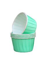Culpitt Cupcake bakjes mint (per 12 stuks)