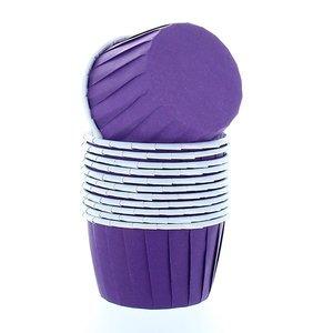 Baking cups purple (12 pieces)