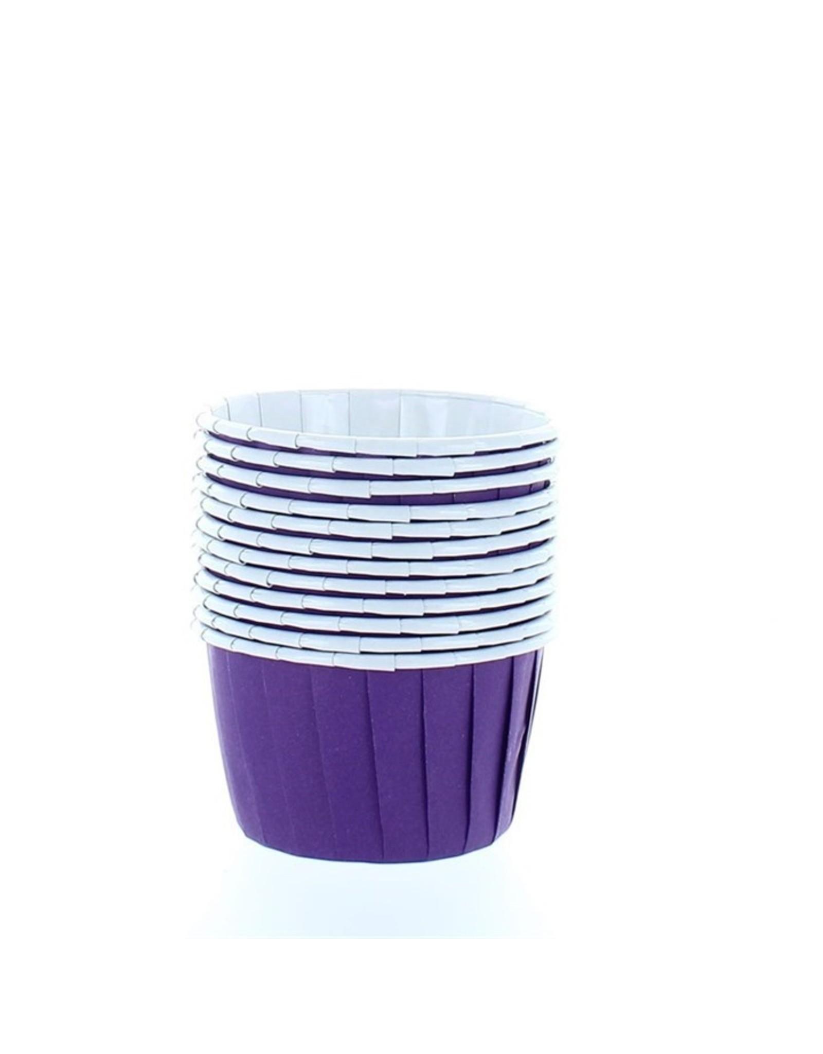 Culpitt Baking cups purple (per 12 pieces)