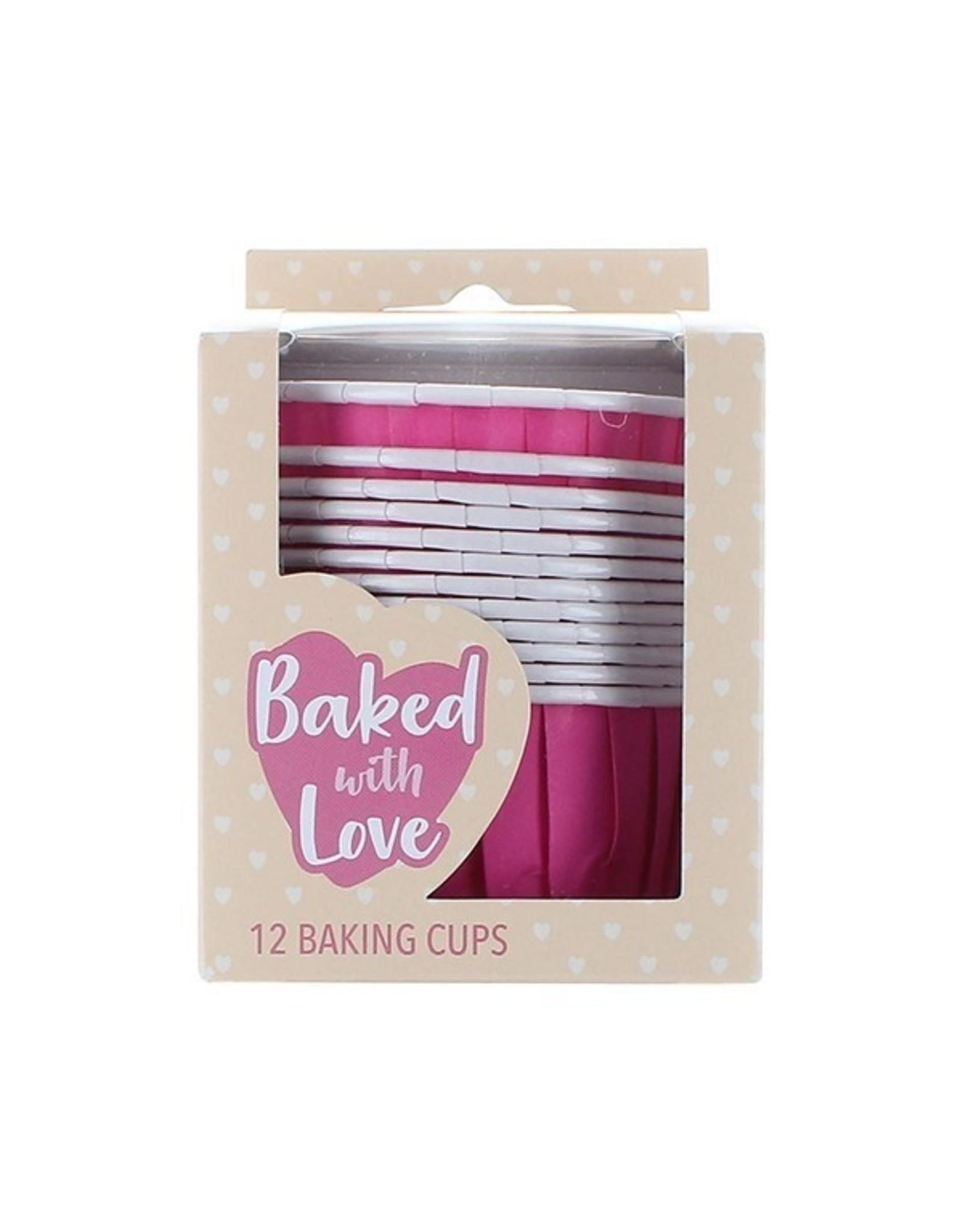 Culpitt Baking cups hot pink (per 12 pieces)