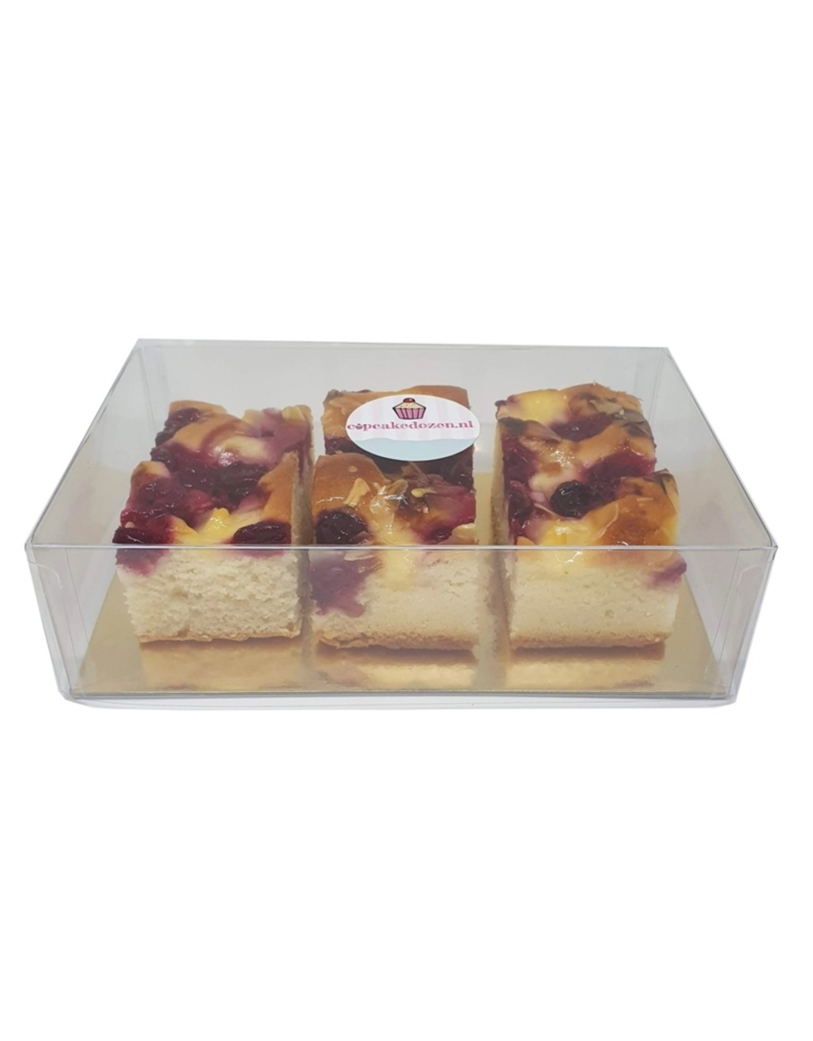 Clear box rectangle deep - multiple sizes