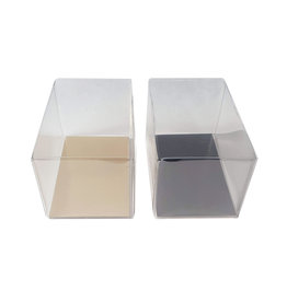 Clear box rectangle deep