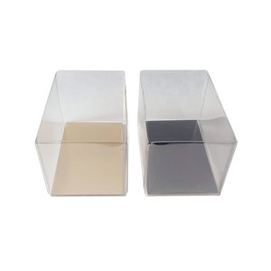 Transparante doos rechthoek hoog