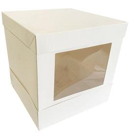 Tall window cake box - 25x25x25 (10 pcs.)