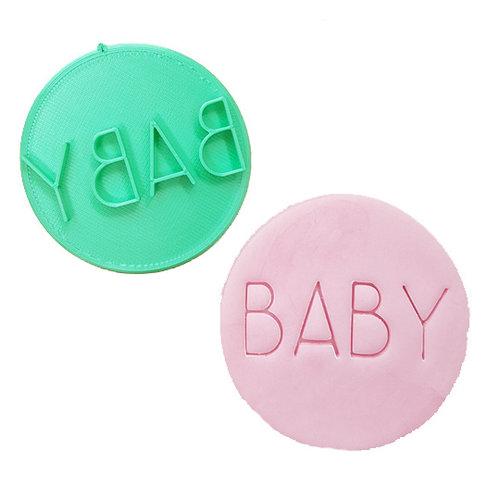 Cookie stamp - Baby (modern)