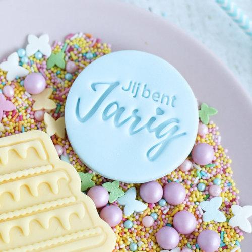 Cookie stamp - Jij bent Jarig