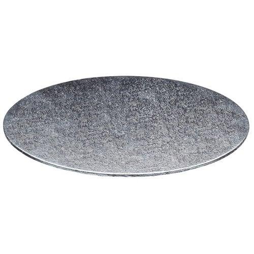 Cakeboards Ø152 mm - zilver (per 10 stuks)