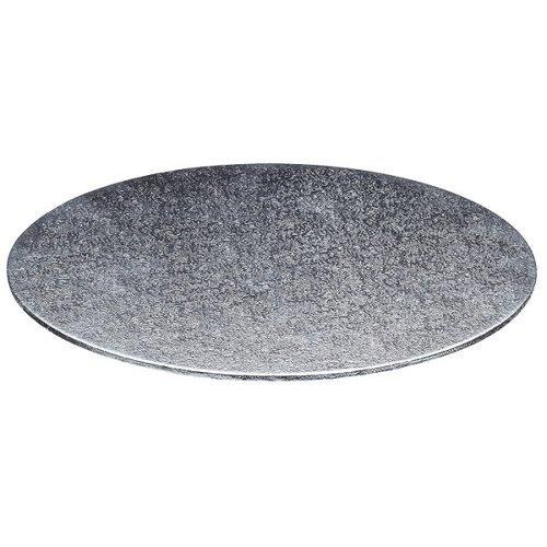 Cake boards Ø152 mm - silver (per 10 pcs.)