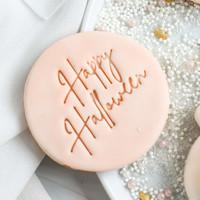 Cookie stamp - Happy Halloween