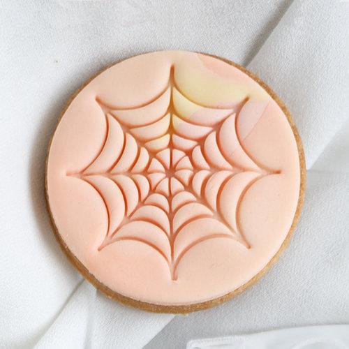 Cookie stamp -  Spider's web