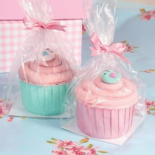 A babyshower or gender reveal party needs beautiful packaging for an extra festive day!