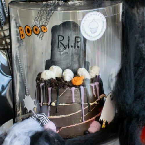 De leukste verpakkingen voor jouw spooky cupcakes, taarten en andere sweets voor Halloween!