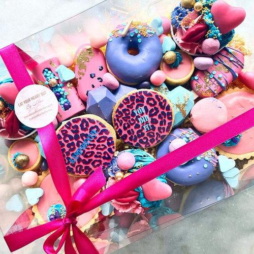 Geheel transparante sweetsboxen
