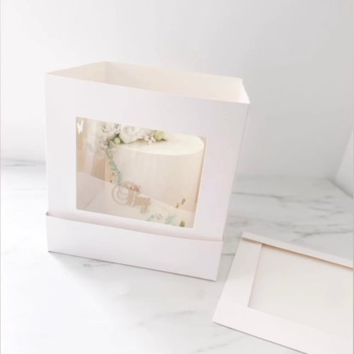 Boxes for tall and stacked cakes