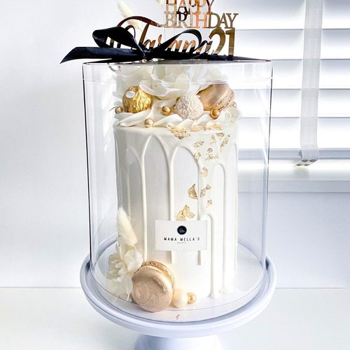 Clear cake boxes