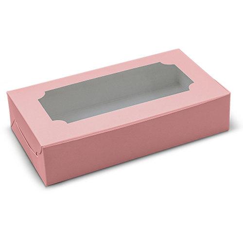 Roze sweetsbox - 23x12,5x5 (10 st.)