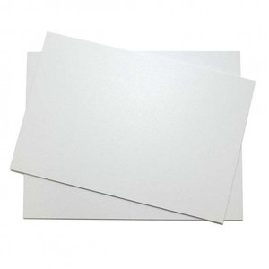 Witte cakeboards - 34 x 26 cm (10 st.)