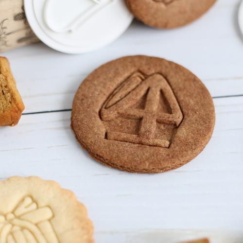 Cookie stamp - Saint Nicholas miter