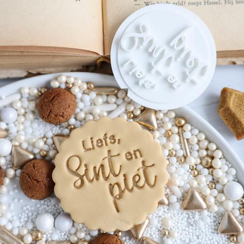Cookie stamp - Liefs, Sint & Piet