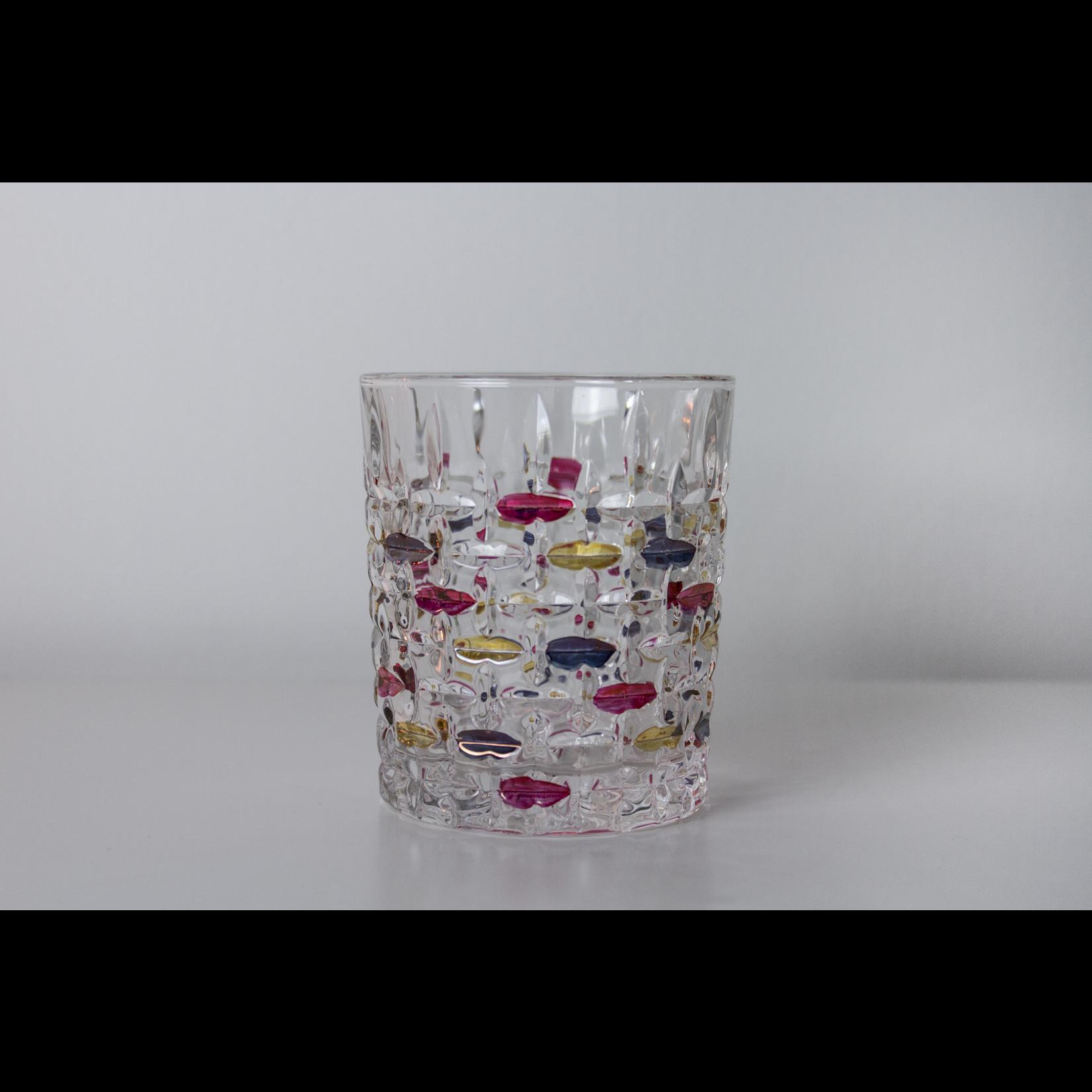 Skloglass Montreal whisky glas kleurenmix / 6st