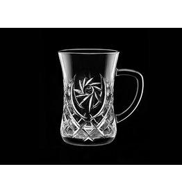 Skloglass Pinwheel kristal theeglazen  / 6st