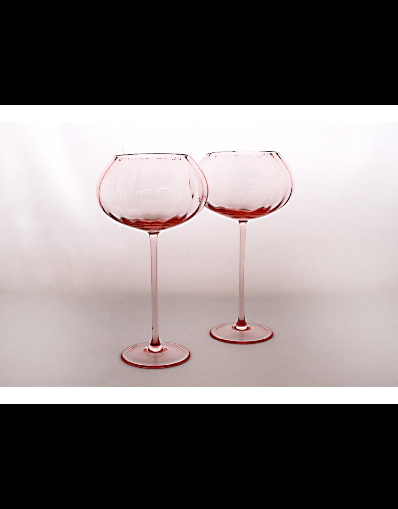 Skloglass Optic wijnglas Rose / 2st